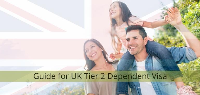 Guide for UK Tier 2 Dependent Visa