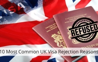 10 Most Common UK Visa Rejection Reasons