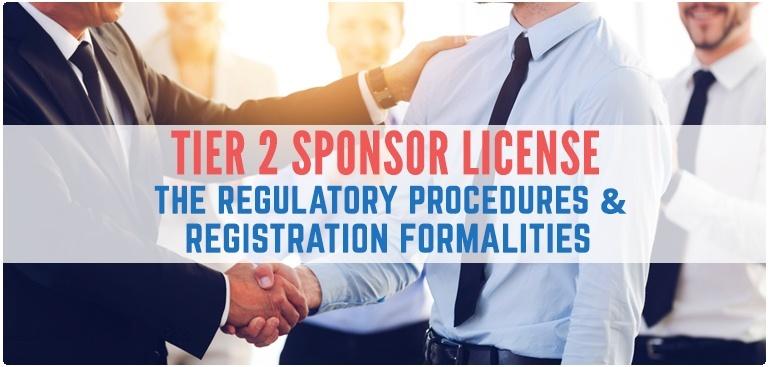 Procedure for Tier 2 Sponsor License registration