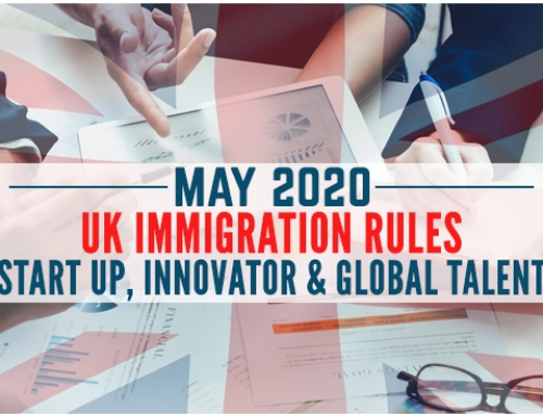 May 2020 Update – UK Start Up, Innovator and Global Talent