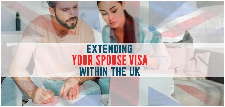 Extending your spouse visa UK