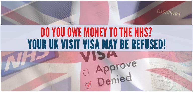 UK Visit visa may be refused