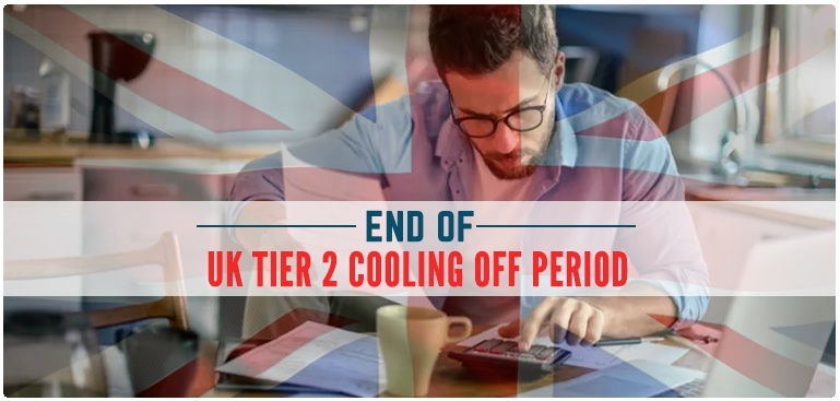 UK Tier 2 Cooling Off Period
